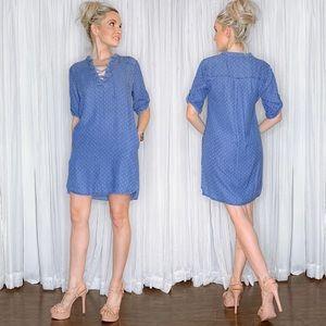 Philosophy Dresses - Philosophy Blue Oversized Dress with Pockets